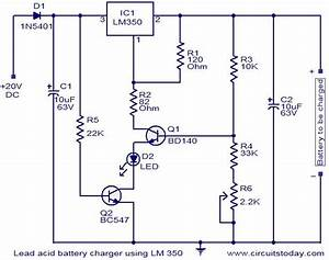 U0026gt Battery Charger Using Lm350