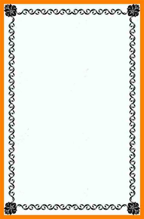 design a border 6 paper border designs address exle