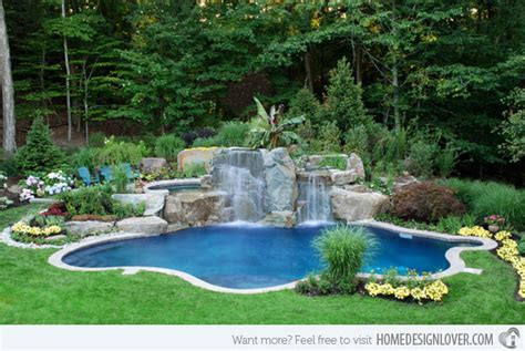 Backyard Small Pool by 25 Ideas For Decorating Backyard Pools