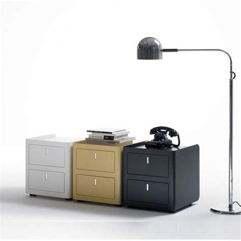 meuble bas de bureau caisson bureau couleur vive