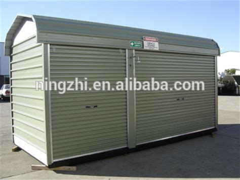 metal portable generator sheds outdoor storage shed portable storage shed steel shed