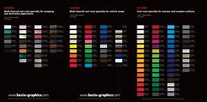 Hexis Vinyl Wrap Color Chart Hexis Vinyl And 3m Wrap Films Colors