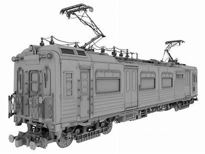 Train Locomotive Transport Transit Passenger Rail Modeling