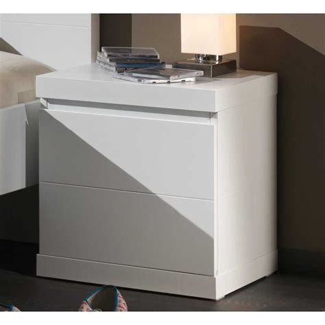 chevet blanc laqu 233 pour chambre enfant