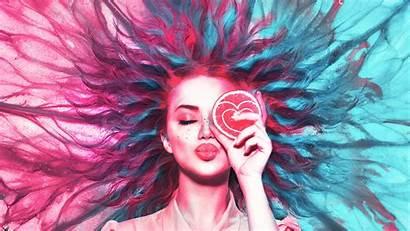Neon Wallpapers Dream Woman Lemon 4k Lemons