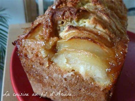 recette de cuisine cake recettes de cake aux pommes de la cuisine au fil d 39 ariane