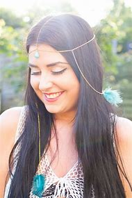 DIY Feather Hair Accessories