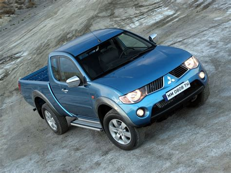Mitsubishi T120ss Picture by 2006 Mitsubishi L200 Pictures Information And Specs