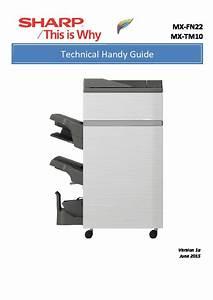 Sharp Mx-6240n  Mx-7040n  Serv Man9  Handy Guide