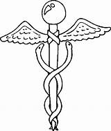 Medical Symbol Aid Coloring Pages sketch template