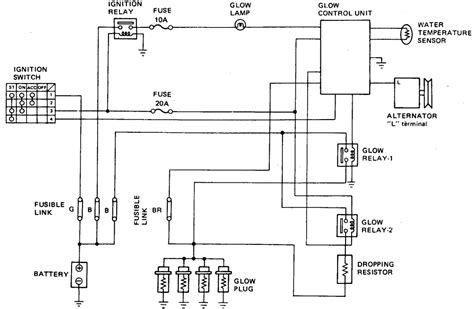 repair guides diesel fuel system glow system