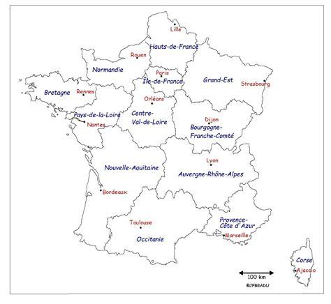 Carte De Region Et Departement Vierge by Carte De Departement Vierge A Imprimer The Best Cart