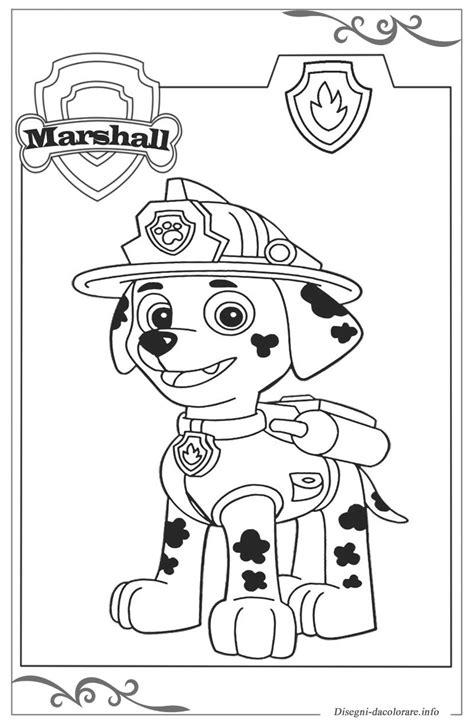 disegni da colorare paw patrol paw patrol pagine da colorare stabili gratuitamente