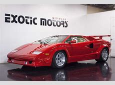 1989 Lamborghini Countach 25th Anniversary Edition For Sale