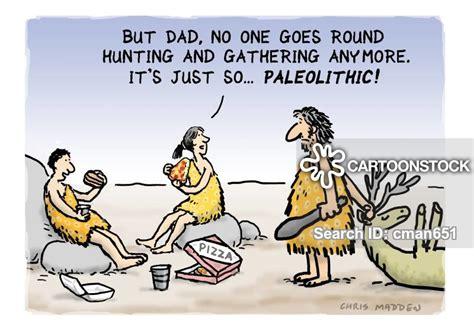 Hunter-gathering Cartoons And Comics