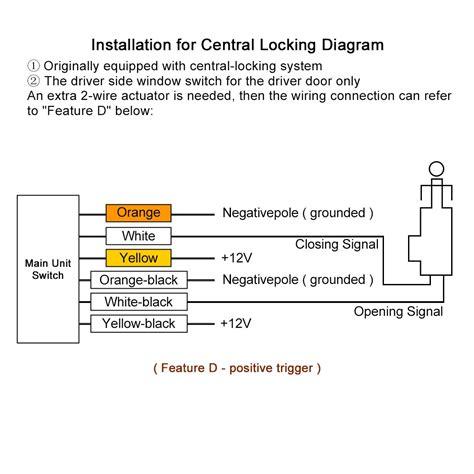 Bmw Door Lock Actuator Wiring Diagram by Universal Central Keyless Entry Wiring Diagram Wiring