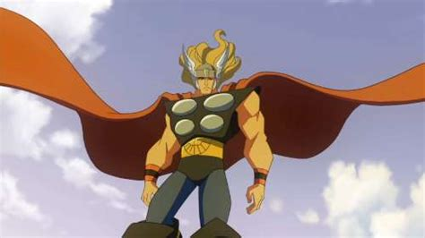 superman dc animated vs thor marvel animated battles