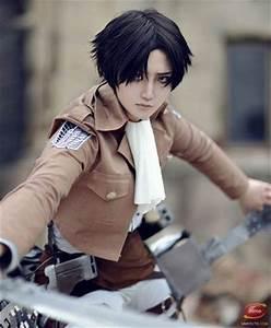 Levi #cosplay - Attack On Titan (進撃の巨人, Shingeki no Kyojin ...
