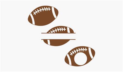 design svg football football monogram svg   transparent clipart clipartkey