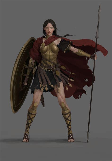 Mulier Edenn (Emilia Venus ) | Concept art characters ...