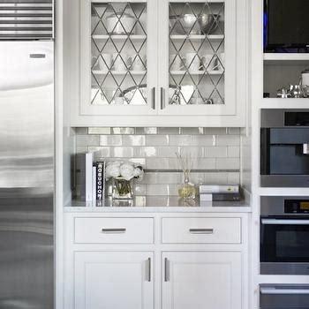 glass subway tiles for kitchen backsplash leaded glass kitchen cabinets design ideas