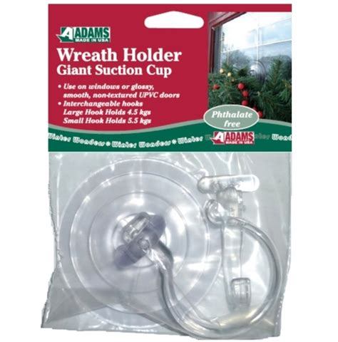 suction wreath hook for upvc doors anglo american