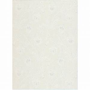 Brewster 56.4 sq. ft. Torcello Platinum Floral Wallpaper ...