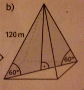 Quadratische Pyramide Berechnen : pyramide mantelfl che und oberfl che einer pyramide berechnen mathelounge ~ Themetempest.com Abrechnung