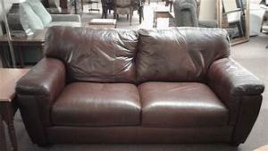Lane leather sofa delmarva furniture consignment for Leather sectional sofa lane