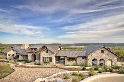 romantic hill country dream farmhouse exterior