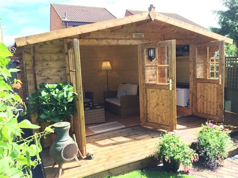 log cabin shed lukas 34mm log cabin with shed