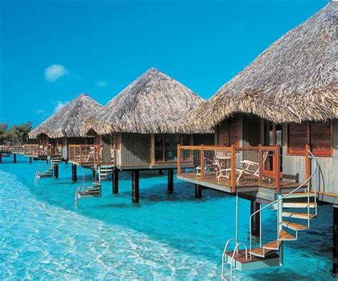 """""""bahamastar"""" Above Water Bungalows Resort In The"""
