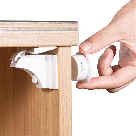 child proof cabinet locks no drilling adoric baby safety magnetic cabinet locks 6 locks 2