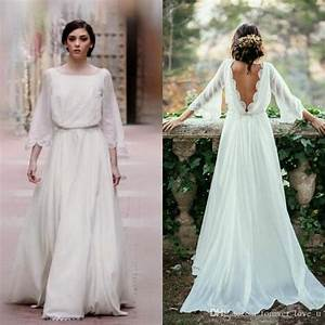 country style bohemian wedding dress a line boho bridal With a line boho wedding dress