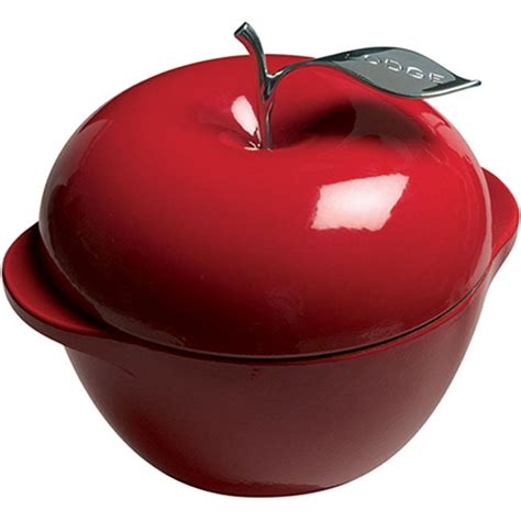 shop lodge patriot red apple  quart cast iron cookware  shipping today overstock