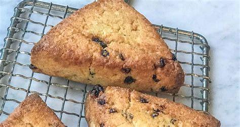 currant meyer lemon scones recipe    scones