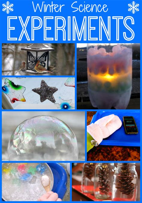 science experiments winter hands animals snow ice nature activities holidays grade experiment projects preschool kindergarten 5th 4th 2nd grades through