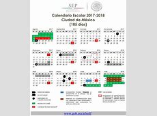 Calendario Escolar 2017 2018 Administración Federal de