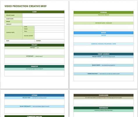 creative  templates smartsheet