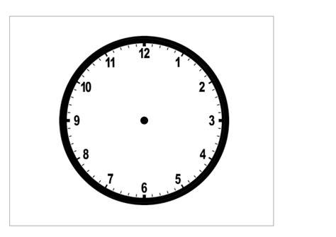 orologio da costruire per bambini con imparare a leggere l orologio schede didattiche ed