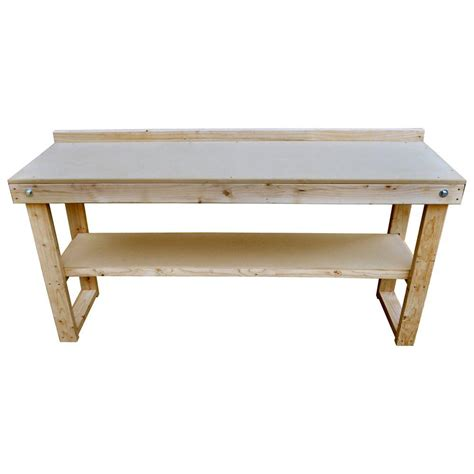 folding wood table home depot signature development 72 in fold out wood workbench