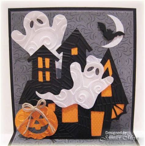 Happy Halloween Popup Card By Lovetostamp6 At