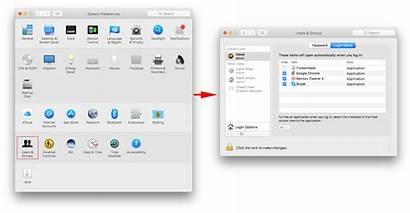 Startup Programs Mac Start System Preferences Change