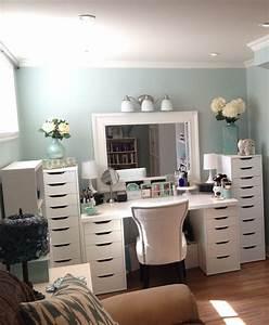 IKEA Bedroom Vanity Great Storage Ideas