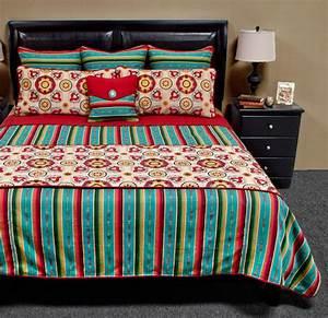 Laredo, Turquoise, Bedding, Set