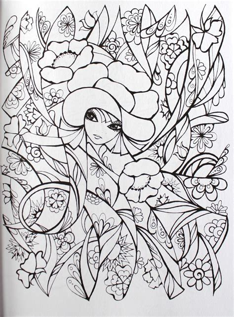 creative coloring books creative fanciful faces coloring book creative