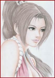 Mi Draw De Mai Shiranui En Colores Arte Taringa