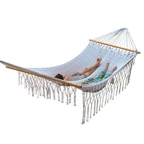 Polyester Hammock by Resort Style Polyester Bar Hammock Mexican Made