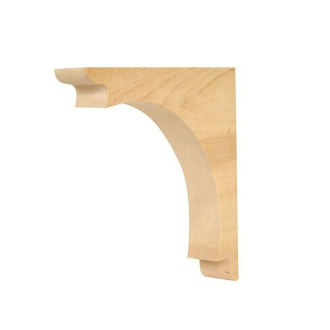 Arch Corbel by Waddell Cr 310 9 1 2 In X 9 1 2 In X 1 3 4 In Solid