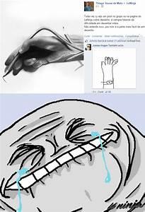 Dificuldade em desenhar mãos - Le Ninja